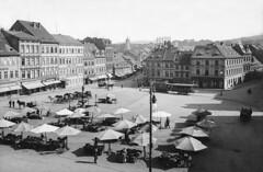 From Old Archives 621 (beranekp) Tags: czech teplice teplitz market square old alt history tramvaj tram tramway tranvia strassenbahn šalina elektrika električka