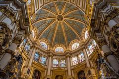 Cathédrale de l'Incarnation (Grenade) [Explore] (cedant1) Tags: cathédrale incarnation grenade cathedral church granada spain espagne europe monument nikon nikond750 afs1635f4 nikkorlens symmetry architecture