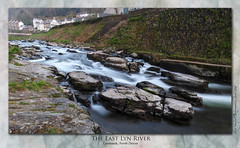 The East Lyn River, Lynmouth (setsuyostar) Tags: lynmouth devon riverlyn waterblur longexposure nikoncoolpixp900 spring2019 april2019 topaz kenhawley