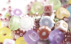Macro Mondays - Pastel (annesjoberg) Tags: macromondays pastell pastel color colorful beeds pärlor hmm happymacromonday