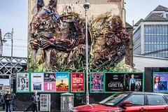 STREET ART BY BORDALO II[TARA STREET IN DUBLIN]-151596 (infomatique) Tags: streetart garbage recycle reuse urbanculture tarastreet dublin bordaloii williammurphy infomatique fotonique sony a7riii voigtlander 40mmlens streetphotography