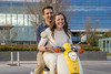 Fun Scooter Ride - Engagement Pictures (aaronrhawkins) Tags: scooter ride couple young engaged engagement grant rylee married fiance happy smile downtown provo utah girl boy husband wife students drive aaronhawkins