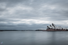 Moody Sunrise (leonsidik.com) Tags: leon sidik fujifilm landscape sunrise nsw sydney australia newsouthwales oz aussie water harbour opera house clouds grey dark moody