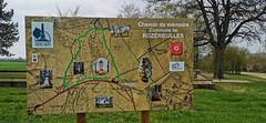 Le nouveau sentier de mémoire par rapport aux batailles de 1870 (Πichael C.) Tags: 140419 randonnée châtel st germain et plateau de rozérieulles rando balade promenade nature metz 57 moselle hike