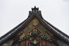 京都・元離宮二条城 ∣ Nijo Castle・Kyoto (Iyhon Chiu) Tags: 日本 京都市 京都 唐門 gate 元離宮 二条城 nijo castle kyoto japan japanese