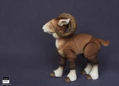 Look at the Ram! (BJD Pets (dolls.evethecat.com)) Tags: bjd bjds bjdsale bjdforsale bjdoll bjddoll bjdlover bjdphoto bjdart dolls evestudiodolls artdoll dollart pets sheep horns cute