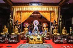 Wat Ounalom Buddha's (Lцdо\/іс) Tags: watounalom phnompenh cambodia cambodge kambodscha khmer temple buddhisme buddha bouddha boudhisme lцdоіс asia asian asie asiatique voyage vacance visit religion