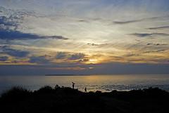 Normandie 2016 / Normandy 2016 (Joseff_K) Tags: coucherdesoleil sunset normandie normandy cotentin cloud nuage mer sea lamanche manche thechannel channel ciel sky nikon nikond80 d80 tamron tamron1750f28