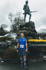 2019-04-15 Lexington 5 Miler (Paul-W) Tags: race lexington massachusetts patriotsday 2019 kilt socks sharlsocks runningkilt paul me minutemanstatue lexingtongreen 5miler 5milerace