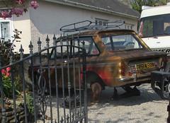 1974 Hillman Imp Super (occama) Tags: gpb459n hillman imp super 1974 old car cornwall uk gold repair british scottish