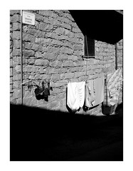 Contrast n. 14 (Franco & Lia) Tags: bortigiadas sardegna sardinia contrast contrasto biancoenero blackwhite noiretblanc schwarzundweiss pannistesi clotheshangingout