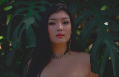 Suzana Fonseca   Undigital (Habittart) Tags: love dramatic drama dark dslr 50mm canon green red skin pink vsco instagram tumblr light day