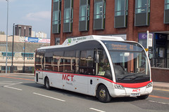 Manchester Community Transport YJ13HLG (Mike McNiven) Tags: manchestercommunitytransport hackney communitytransport manchester hct mct optare solosr hybrid dieselelectric ecohybrid stockport busstation saintpeterssquare albertsquare