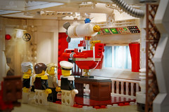 """Netbrix """"Full Steam"""" S. 1/Ep. 10 """"Misfortune's Keepers"""" (Markus """"madstopper78"""" Ronge) Tags: netbrix legosteampunk fullsteamlego toyphotography legopotsdam toyphoto emergencyservices firemen firefighter fireship steampunk"""
