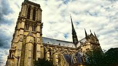 Tristesse infinie (Miradortigre) Tags: paris francia france notre dame notredame cathedral gothic gotica catedral cathédrale gothique monument historique catholic catolico cristiano christian