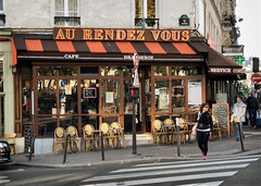 Paris, France v.43 (lumierefl) Tags: paris îledefrance france europe europeanunion eu architecture building business hospitality entertainment restaurant café brasserie bar