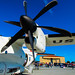Up Close With A Dowty Propeller on Ze C-27J