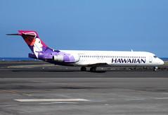 N492HA Hawaiian Airlines Boeing 717-2BL (BayAreaA380Fan Photography) Tags: keaholekonaintlairport koa phko hawaiianairlines southwestairlines alaskaairlines boeing 737 717 boeing737 boeing717 boeing767 767 unitedairlines nevadaone
