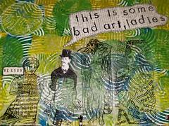 Bad Art (limerickme) Tags: mixed media art journal