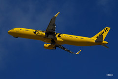 171029_06_FLL_N664NK (AgentADQ) Tags: fort lauderdale hollwywood international airport florida 2017 fll airliner airline airplane plane commercial jet aviation n664nk airbus a321231 spirit airlines