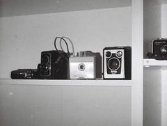 Cameras (4) (Matthew Paul Argall) Tags: hanimex110if fixedfocus 110 110film subminiaturefilm lomographyfilm blackandwhite blackandwhitefilm 100isofilm camera cameras