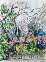 San Francisco 91 Guerrero str (yuhop) Tags: sketch sanfrancisco spring coloredpencils drawing graphic