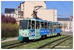 Tram Frankfurt (O) - 2019-09 (olherfoto) Tags: bahn tram tramcar tramway villamos strasenbahn frankfurtoder tatra kt4d
