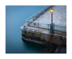 The Lamp (Rich Walker Photography) Tags: plymouth longexposure longexposures longexposurephotography abstract photography canon devon england efs1585mmisusm eos eos80d water corner lamp light steps blue architecture landscape landscapes landscapephotography