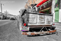 pickup truck (Luxurypete) Tags: jerome arizona street scene olympus omd travel urban city em5 markii