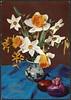 God Påske (National Library of Norway) Tags: nasjonalbiblioteket nationallibraryofnorway påskekort påske eastercards easter påskeegg påskeliljer pinseliljer påskeblomster blomster flowers postkort postcards