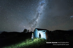 Milky way rises over high country Victoria, Australia (Naomi Rahim (thanks for 5 million visits)) Tags: porepunkah victoria australia 2019 travel travelphotography nikon landscape nature nikond750 wanderlust night astrophotography milkyway stars sky shed autumn march rural longexposure 1424mm