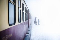 Brocken leading lines (yngwiescheerlinck) Tags: harz brocken train mood peace instagram father son dark mist white germany deutschland zug schnee snow
