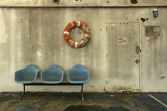 waiting room. (explored) (stevenbley) Tags: abandoned decay urbex urbanexploration newyork ny hospital boat ship canon5dmarkiii rot rust peelingpaint guerillahistorian nautical floatinghospital