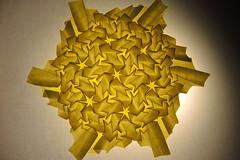 DSCN9205 (Arseni Ko) Tags: origami paper pattern design geometry symmetry corrugation tesselation