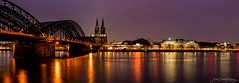 Hohenzollernbrücke / Dom IV - Panorama (janmalteb) Tags: canon eos 77d tamron 18200mm cologne panorama