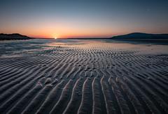 Duddon Estuary sunset (northernladgonesouth) Tags: sunset bluehour sea sand horizon beach blackcombe cumbria barrowinfurness explore