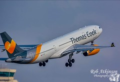 Thomas cook a330 (R0BERT ATKINSON) Tags: thomascook a330 airport manchesterairport southside avation takeoff nikond7100 sigma150500 gtcxc