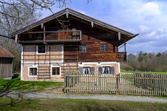 Old farm house (memories-in-motion) Tags: house building farm rural bauernhof freilichtmuseum massing spring construction old tradition bayern fuji gf3264mmf4rlmwr gfx 50r gfx50r by