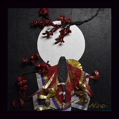 梅姫 - Princess Ume (清水みのり - Artist) Tags: minorishimizu風 origami artist japanese art 清水みのり 京おりがみ 折り紙