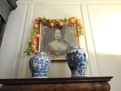 Photo of Portait of Queen Mary at Hanbury Manor NT