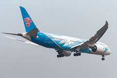 CHINA SOUTHERN B787-8 DREAMLINER B-2727 002 (A.S. Kevin N.V.M.M. Chung) Tags: aviation aircraft aeroplane airport airlines plane spotting can landing approach boeing b787 b7878 dreamliner chinasouthern