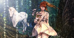 ♚ Look #675 ♚ (Caity Saint) Tags: argrace ersch dress cute kawaii secretposes catwa maitreya sl secondlife bento avatar pixels