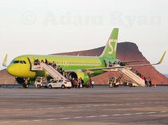 VQ-BRA - S7 Airlines A320 NEO (✈ Adam_Ryan ✈) Tags: tenerifesouth tenerife spain tfs reinasofia airport s7 s7airlines a320 a320neo neo sunny canaryairlines canaries moscow russia flight sunset ground nikon p510 boarding s7675 s7676 vqvra airbus aviation planespotting