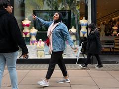 Free Knickers (stevedexteruk) Tags: boux avenue street london uk store knickers bra shop 2019 pointing mannequin dummy