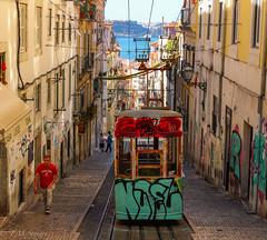 Lisboa, Portugal (TMStorari) Tags: lisbona lisboa portogallo portugal tram tramway transports art arte graffiti streetart streetphotography streets lisbon europe sea atlantic europa architecture architettura city cityscapes città view cities explore scorci scorcio cityscape