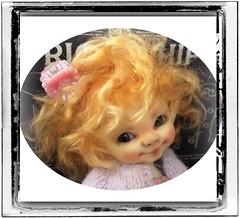 Little flirt! (Jonquil O) Tags: realpuki pupu tiny bjd fairyland