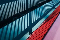 Off Grid (tyrellblack87) Tags: lines shapes abstract contrast light dark shadow fujifilm fuji fujix100t travel explore colour grid