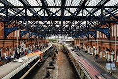 444018 & 221126 Bournemouth 05/04/2019 (Flash_3939) Tags: 444018 221126 class444 class221 emu demu voyager xc crosscountry swr southwesternrailway bournemouth bmh 1w52 1o02 station fosw rail railway train uk april 2018