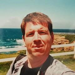 Analogue selfie. Wollongong, Australia. 1999. (Doug Murray (borderfilms)) Tags: analogue selfie wollongong australia 1999