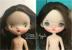Ododo repaint (Petite Apple) Tags: ododo repaint doll ooak customdoll